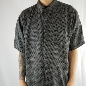 Neiman Marcus short sleeve button down shirt
